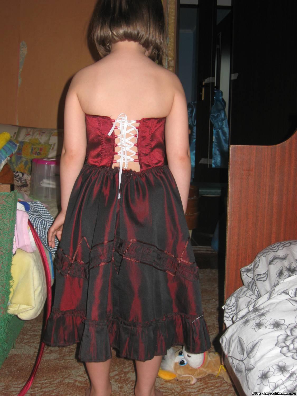 Платья на корсете как сшить