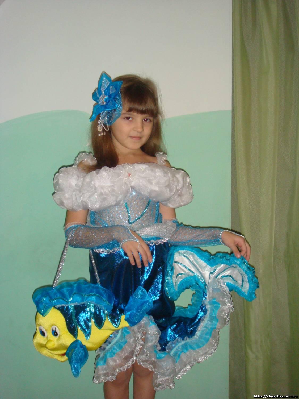 Платье русалка своими руками 1