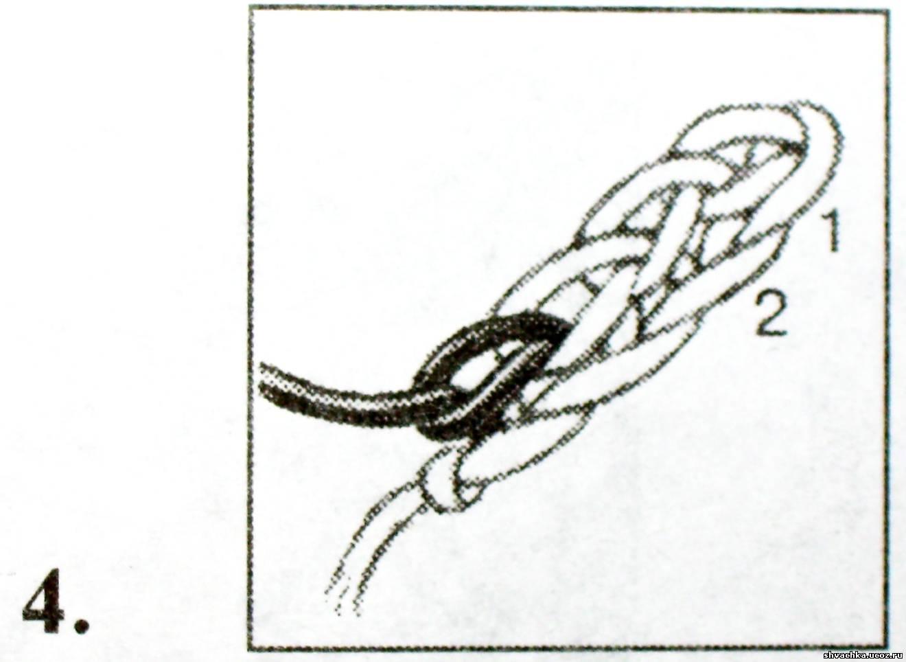 Как связать крючком цепочку - wikiHow